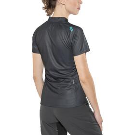 IXS Trail 6.1 Maillot manches courtes Femme, black/petrol